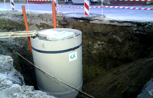 pumping stations for waste water pumping