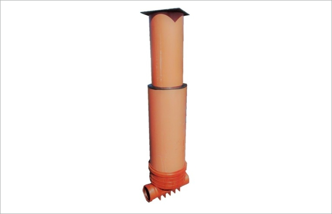Telescopic sewer shafts