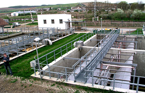 municipal waste water treatment plants